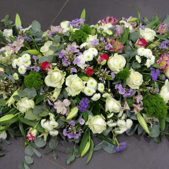 Composition florale Deuil monsieur fleur photo
