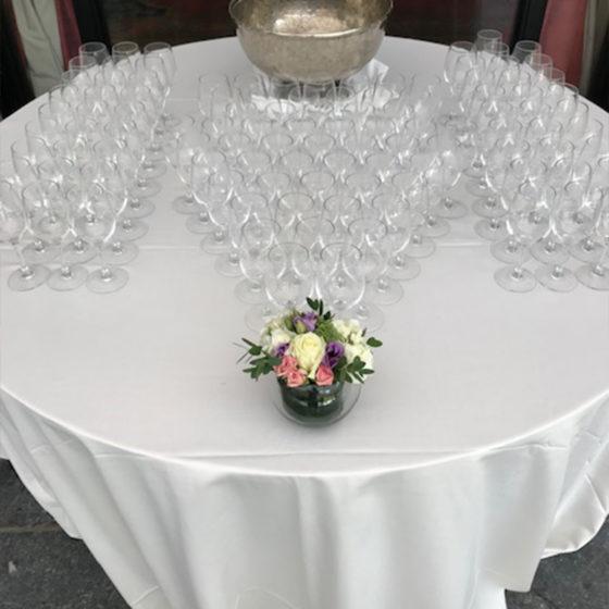 Composition florale table événement monsieur fleur photo