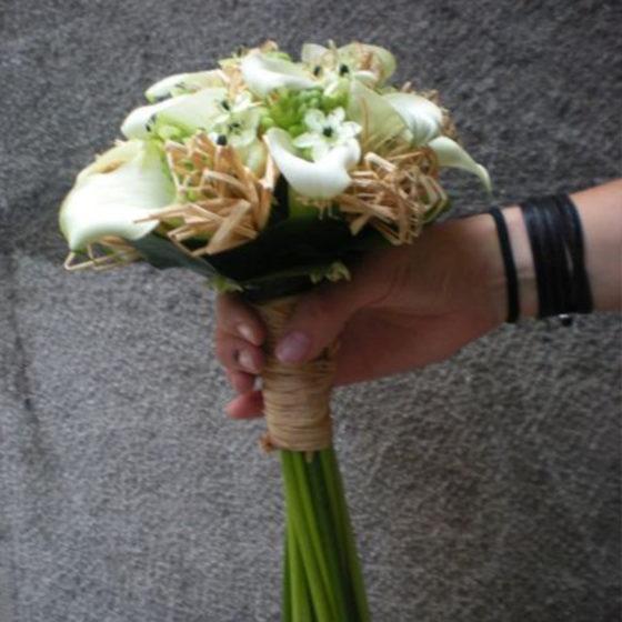 Bouquet de fleurs mariage monsieur fleur photo