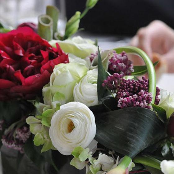 Composition florale mariage monsieur fleur photo